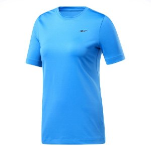 Camiseta Reebok Wor Speedwick Azul Feminino