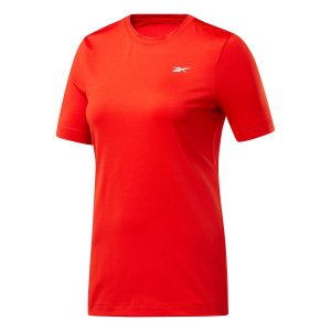 Camiseta Reebok Wor Speedwick Vermelho Feminino