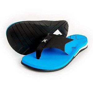 Sandália Kenner X-Gel Azul/Preto Masculino
