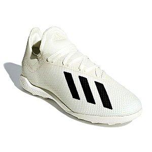 Chuteira Suiço Adidas X Tango 18.3 Bege Masculino