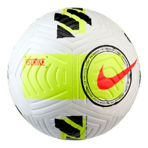 Bola Campo Nike Strike Facup 2021 Branco/Amarelo
