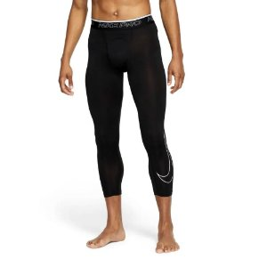 Calça Compressão Nike Pro Dry 3qt Tight Preto Masculino