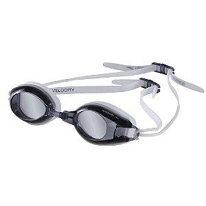 Óculos Natação Speedo Velocity Transparente Preto