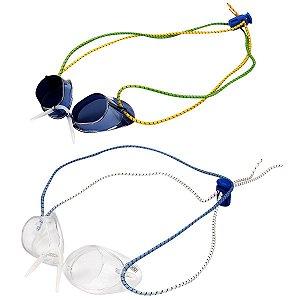 Kit Óculos Natação Speedo Competition Azul