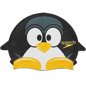 Touca Natação Speedo Pinguim Cap Preto