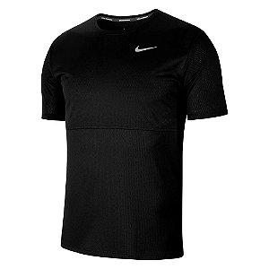 Camiseta Nike Breathe Run Top Ss Preto Masculino