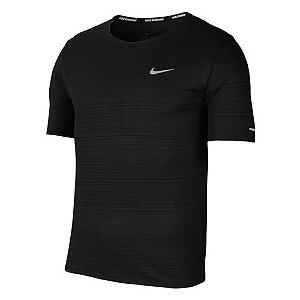 Camiseta Nike Dry Miler Top Ss Preto Masculino