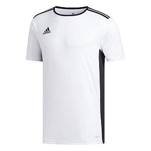 Camiseta Adidas Entrada 18 Branco Masculino