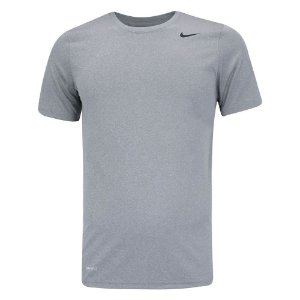 Camiseta Nike Dry Tee Lgd Cinza Masculino