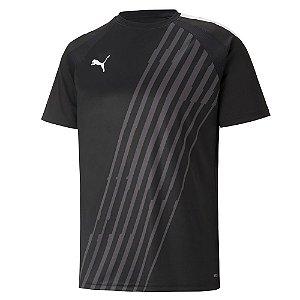 Camiseta Puma Individual Parcer Preto Masculino