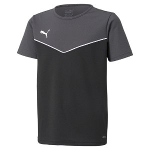 Camiseta Puma Individualrise Cinza Escuro Masculino