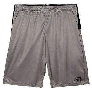 Shorts Oakley Breathe Knit Cinza Masculino