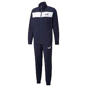 Agasalho Puma Poly Suit Azul Masculino