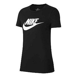 Camiseta Nike Essential Icon Ftra Preto Feminino