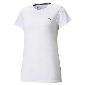 Camiseta Puma Performance Branco Feminino