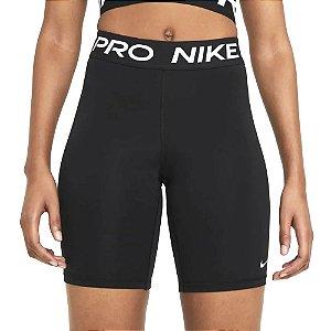 Shorts Nike Pro 365 8in Preto Feminino