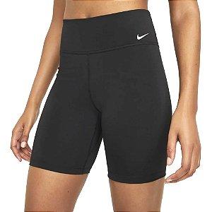 Shorts Nike One Mr 7' 2.0 Preto Feminino