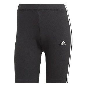 Short Adidas 3 Listras Bk Preto Feminino