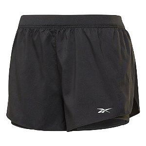 Shorts Reebok Re 2in1 Refletive Proud Preto Feminino