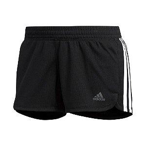 Shorts Adidas Pacer 3s Knit Preto Feminino