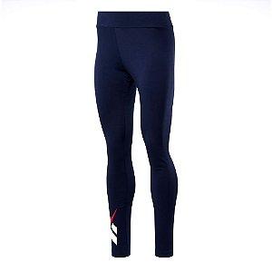 Calça Legging Reebok Cl Vector Azul Marinho Feminino