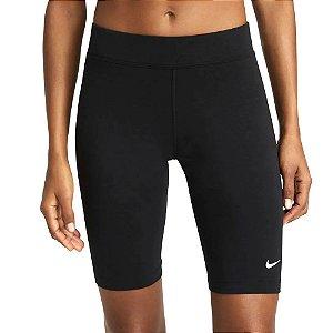 Shorts Nike Essential Bike Lbr Mr Preto Feminino