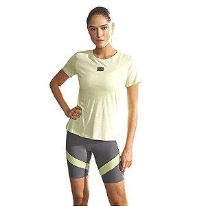 Camiseta Colcci Verde Ceramic Feminino
