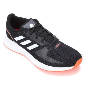 Tenis Adidas Runfalcon 2.0 Preto/Laranja Masculino