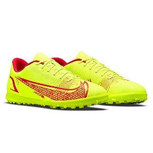Chuteira Society Nike Vapor 14 Club Amarelo