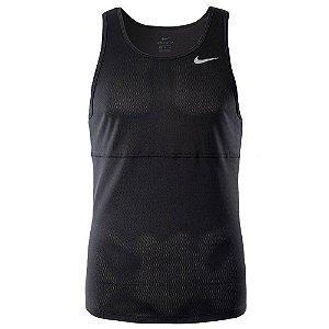 Camiseta Nike Sm Breathe Run Preto Masculino