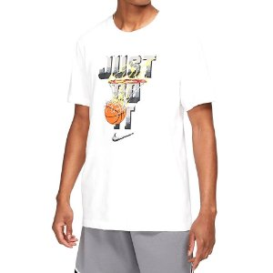 Camiseta Nike Dry Just Do It Ss Branco Masculino