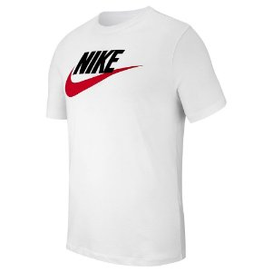 Camiseta Nike Nsw Icon Futura Branco Masculino
