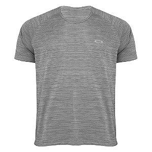 Camiseta Oakley Mod Sport Twisted Cinza Masculino