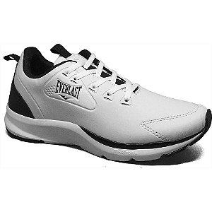 Tenis Everlast Confort Branco/Preto Masculino