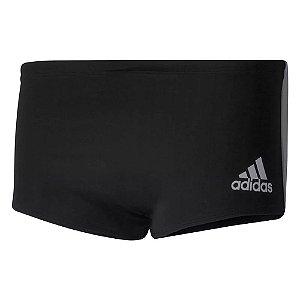 Sunga Adidas Color Block Preto e Cinza Masculino