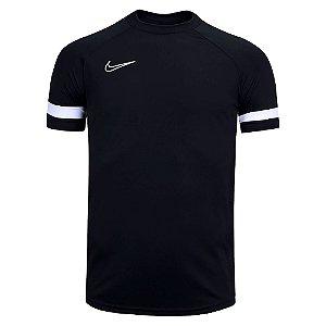 Camiseta Nike Dry Academy21 Top SS Preto Masculino
