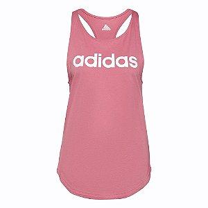Regata Adidas Logo Linear Rosa Feminino