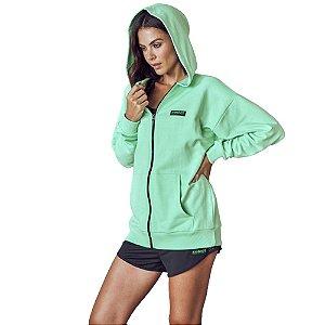 Jaqueta Colcci Capuz Sport Loose Feminino Verde