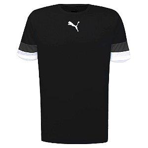 Camiseta Puma Teamrise Jersey S Preto Masculino