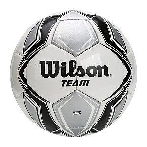 Bola Campo Wilson Team SB Preto Prata 7b247cdbe7d26