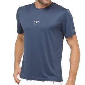 Camiseta Speedo Interlock Azul Marinho