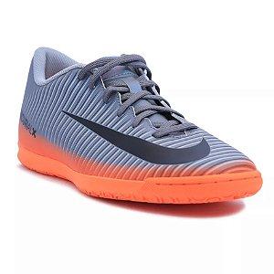 Chuteira Futsal Salão Nike Mercurialx Vortex 3 CZ Infantil