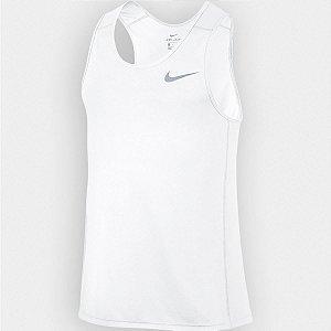 Regata Nike Breathe Miler Tank Cool Branca