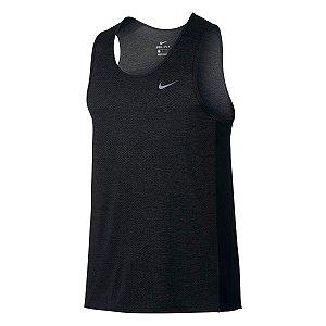 Regata Nike Breathe Miler Tank Cool Preta