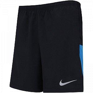 Short Nike Flex Challenger 7IN Core Preto/Azul
