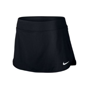 Saia Short Nike Skirt Pure Preto/Branco