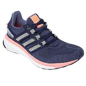 eadaf89a0ac55 Tenis Adidas Energy Boost 3 Cinza Rosa - 10K Sports