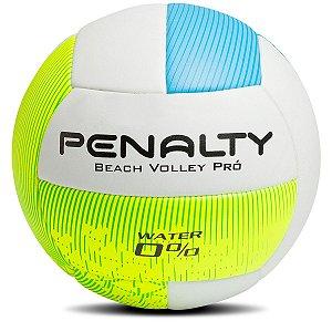 Bola de Beach Vôlei Penalty Pro VII Branco/Azul/Verde