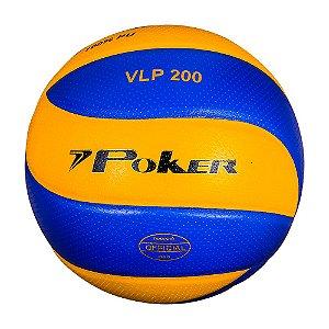 Bola de Volei Poker VLP 200 Amarela/Roxo