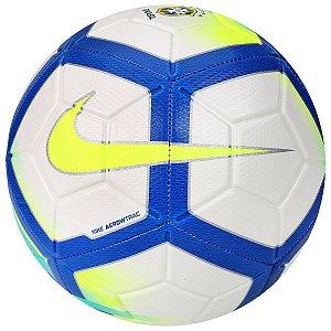 Bola Campo Nike Strike Cbf Bco Cia Azl - 10K Sports 61341c78a410b